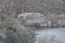 On reaching Canyon Lake, I'd stopped just after crossing this bridge at its western end.