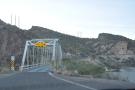 Turning around to drive back to Phoenix meant crossing the bridge again.