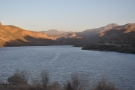 ... at the western end of the lake, where a short side road gave me this viewpoint.