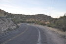 Driving back up to Apache Gap, I pulled over at about the half way point...