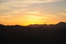 ... to watch as the sun descended behind the western mountains...