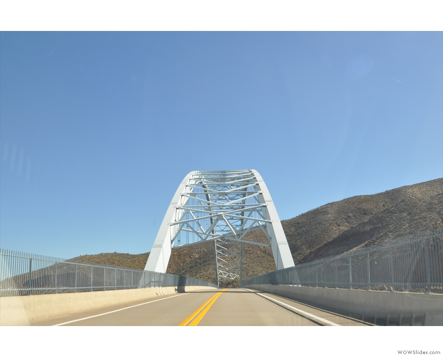 ... turned right after crossing the bridge and driven the Apache Trail east-to-west...