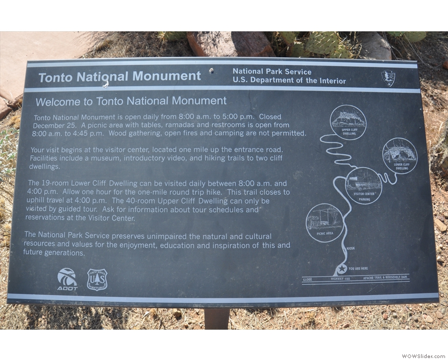 I made a brief stop at the Tonto National Monument. I'd like to visit it properly one day.