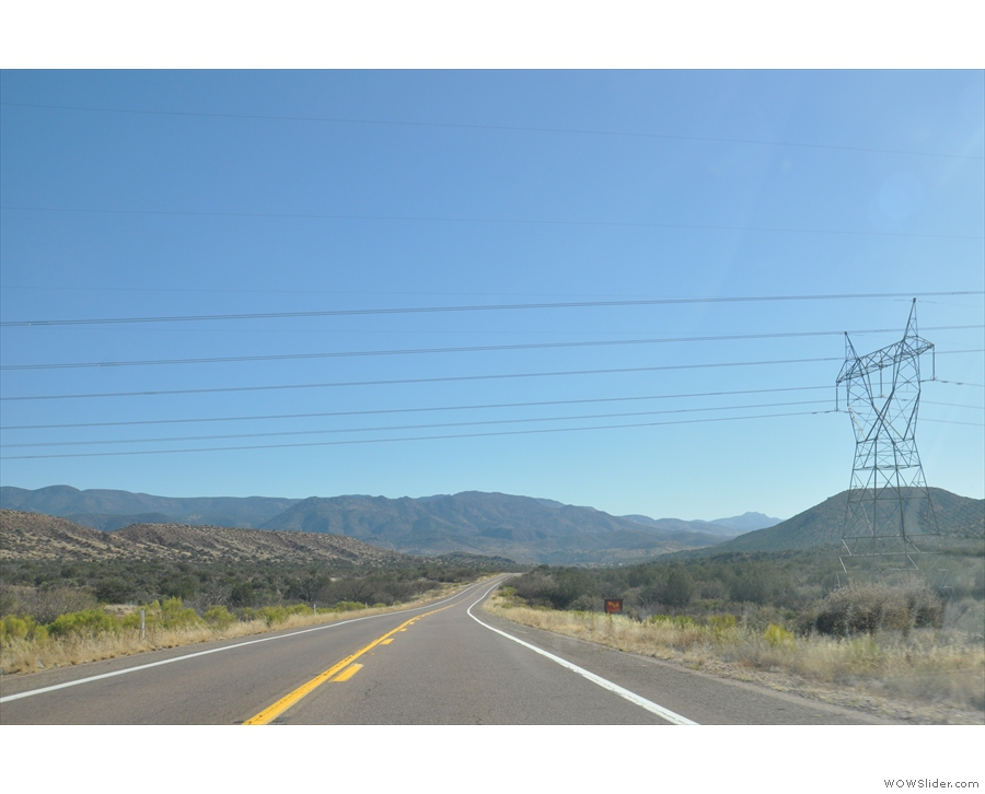 And here I am, on SR 188...
