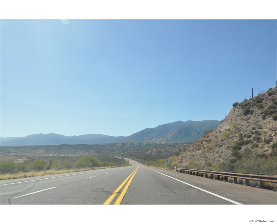 ... perhaps the least interesting section of the day's drive, but still with some great views.