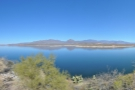 ... and a panoramic view straight across to the mountains on the other side.