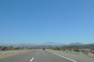 On the open road, driving north on SR 87. By the way, I have a new technique for...