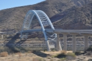 Then it's time to hit the road again, as I cross over the Roosevelt Lake Bridge.