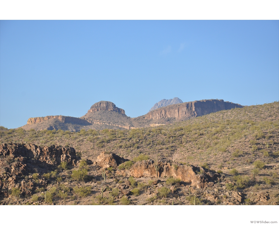 ... capped with these lovely peaks.