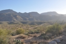 Talking of looking west, there's the Apache Trail which I've just driven along.