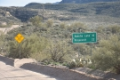 ... only 22 miles away (Roosevelt is just beyond the end of the Apache Trail).