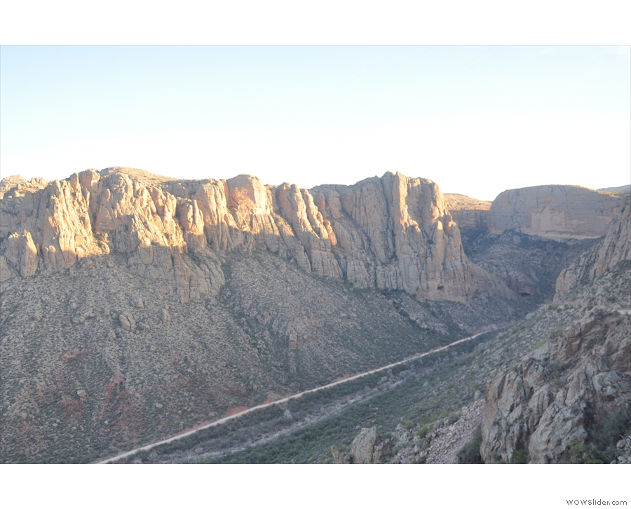 ... all the way down to the bottom of the canyon...