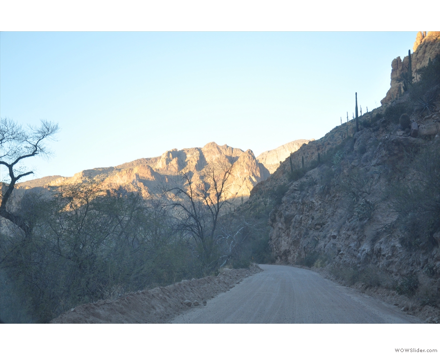 ... to explore, but time was against me, so I pressed on along the bottom of the canyon.