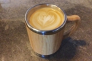 ... for a flat white to go in my Global WAKEcup.