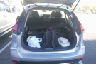 It passed one of my main criteria: I could (just) fit everything into the boot.