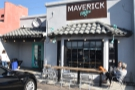 I was packed ready to set off, but before I left, I made a quick stop at Maverick Coffee...