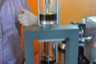 Step 9: Here we go. The coffee is extracted by a combination of vacuum & gravity.