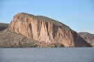 This impressive rock/cliff is, I beleive, Ittindi Rock. If you look just to its right...