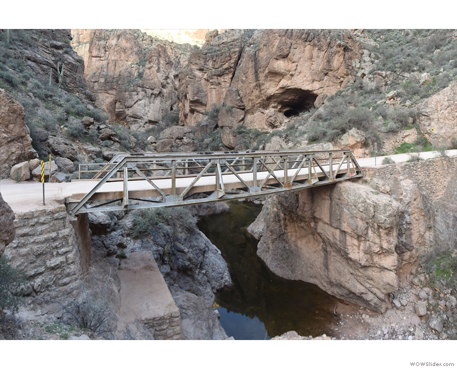 Back to the bridge as it crosses Fish Creek Canyon. I was fascinated by it and by the...