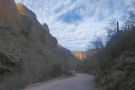 Back in my car, I set off north along the bottom of Fish Creek Canyon.