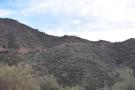 ... having descended along the mountainside.