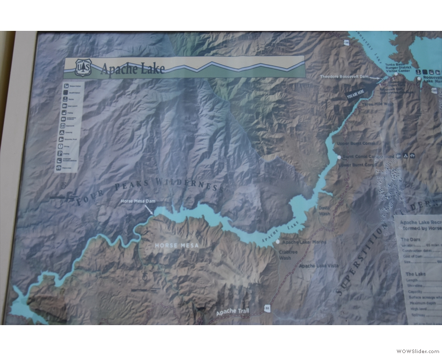 ... which welcomes you to the Apache Trail and this one, which shows the Salt River.