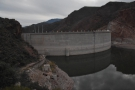 ... an overlook just 100 metres on. Here you can see the original top of the dam before...