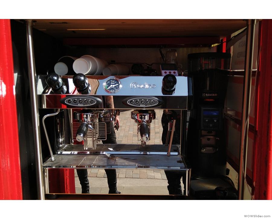 ... as well as a new Fracino espresso machine!