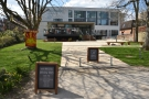 There's good news if you want to sit outside at a table though. Open Grounds Cafe has...