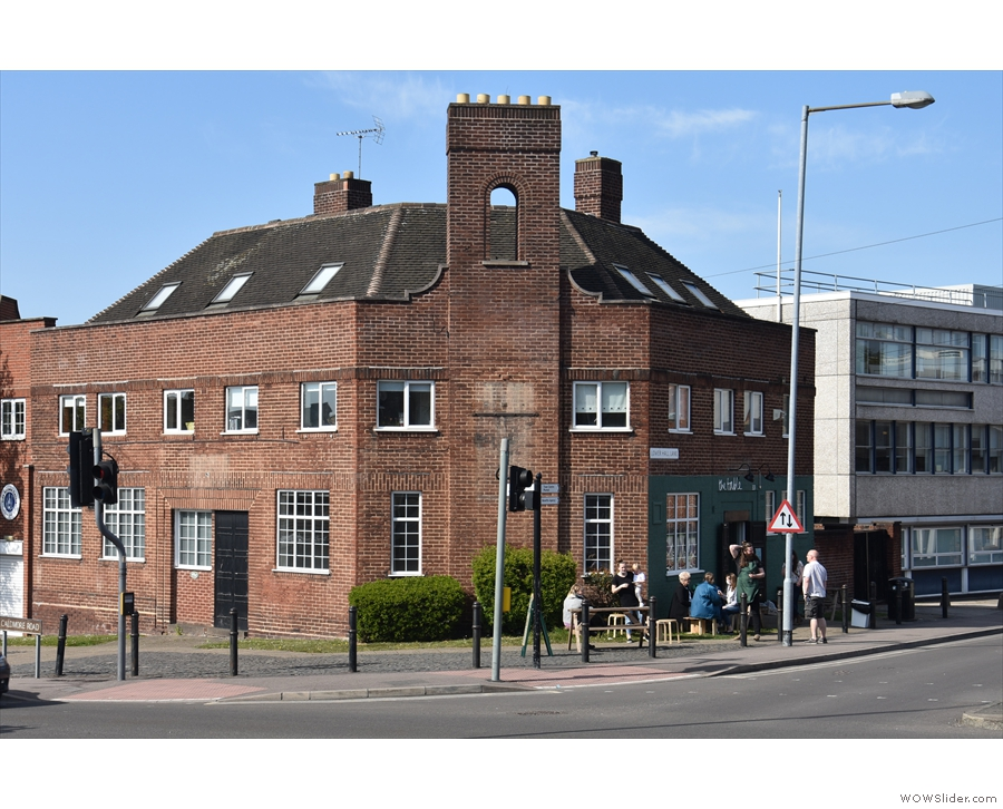 On a sunny corner in the centre of Walsall stands this interesting building.