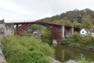 ... which I took to the nearby Ironbridge, which spans the River Severn. This is the view...