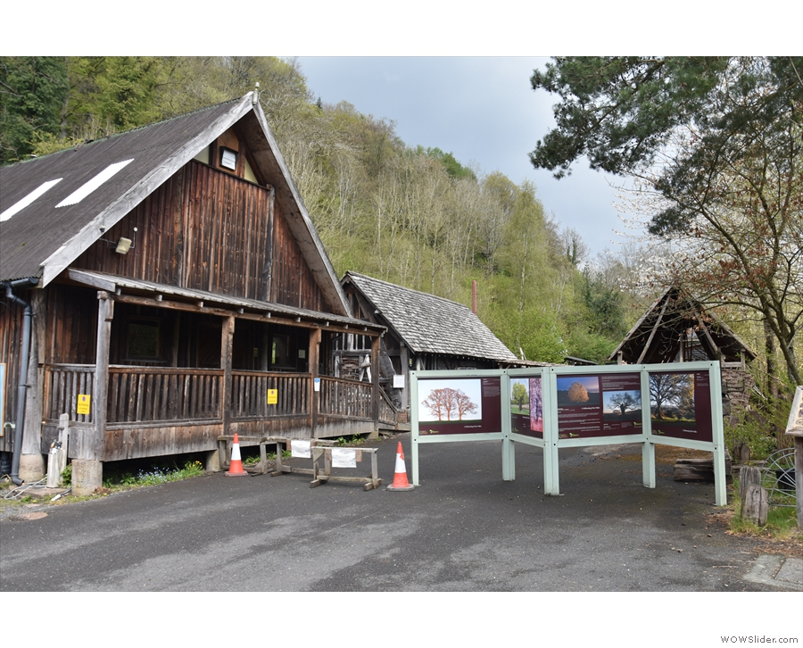 ... since the Green Wood Centre, which is at the back of the site, is currently closed.