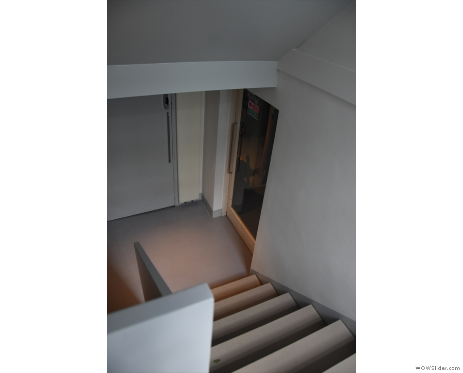 ... where the stairs continue down to a ground floor/semi-basement...