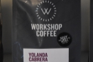 There are two pour-over options. While I was there, it was the Yolanda Cabrera...
