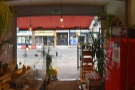 A view of the front of Coffee Station from the inside.