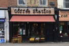 Coffee Station on the south side of King Street in Hammersmith.