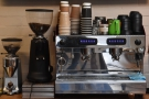 Let's put the espresso machine to work, shall we?