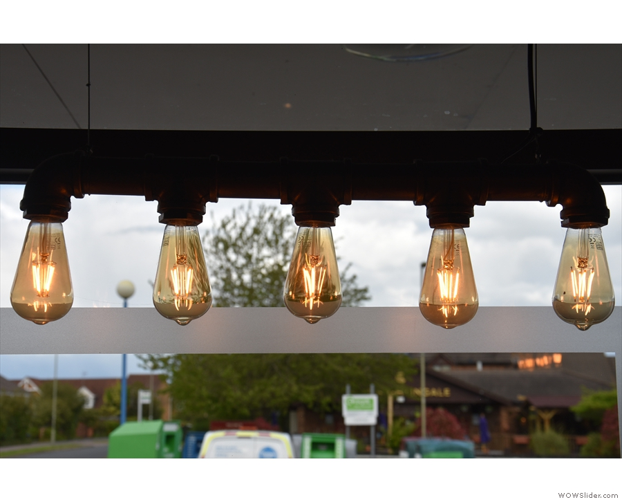 There are also light bulbs. Lots of light bulbs. I've missed photographing light bulbs...