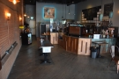 Normally there are plenty of tables down the left-hand side of FLTR Coffee...