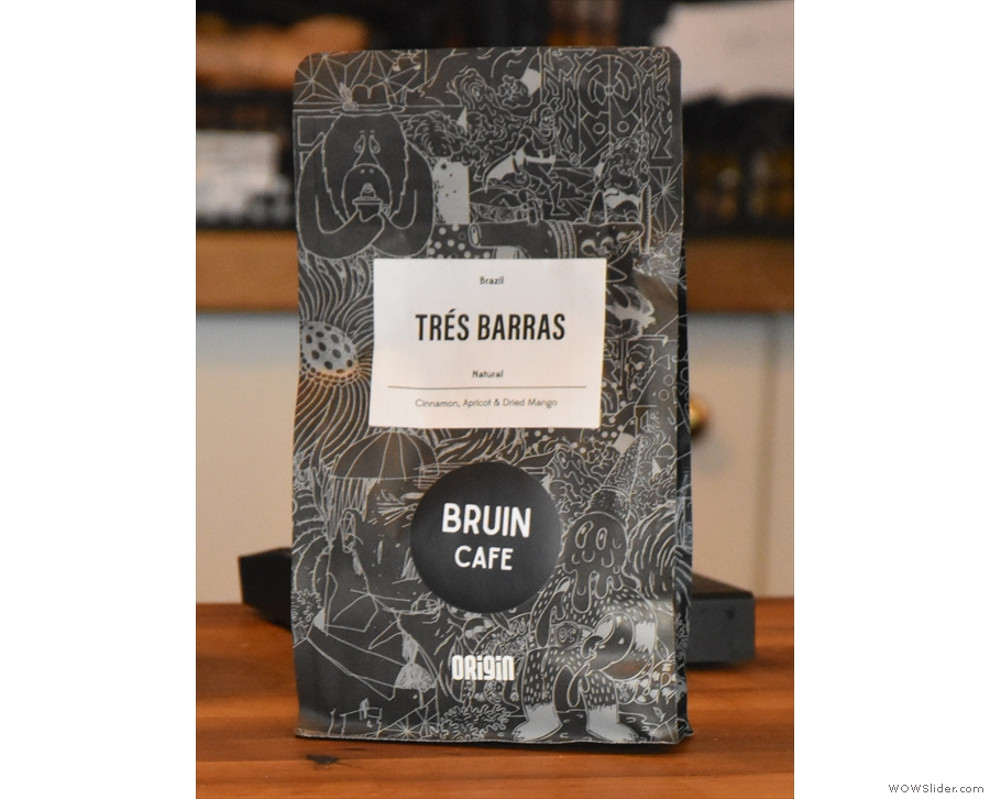 ... using, at Louis' recommendation, the Trés Barras.