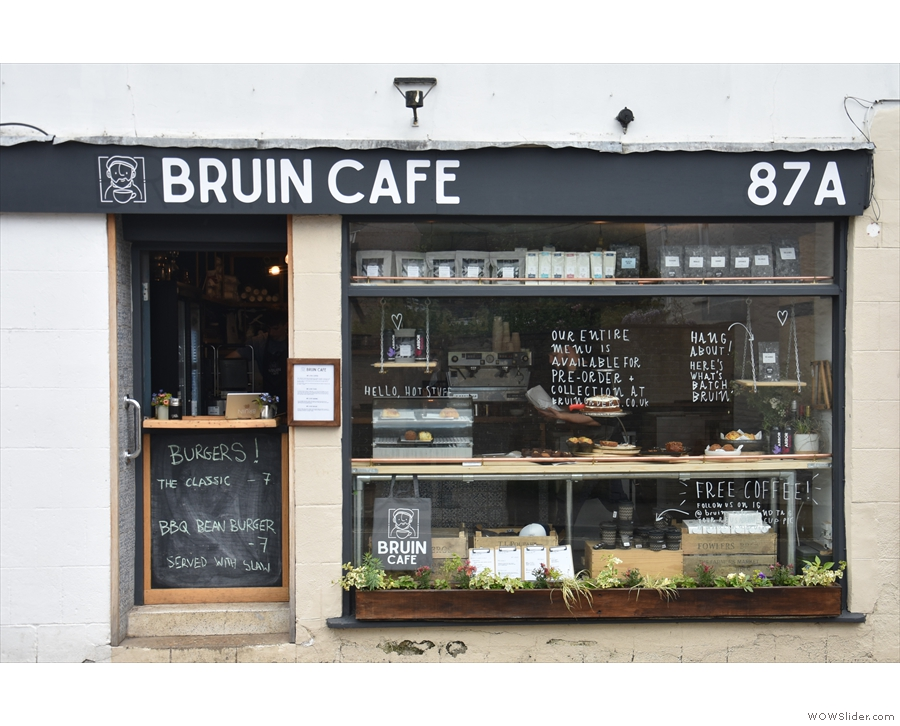 Bruin Cafe, on the High Street in Wheatley.