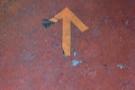 ... and follow the arrows on the floor.