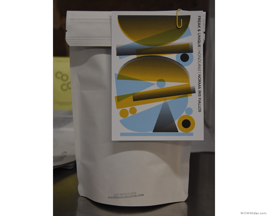 ... second Freak & Unique coffee. Sadly, it was promised to another customer, but I did...