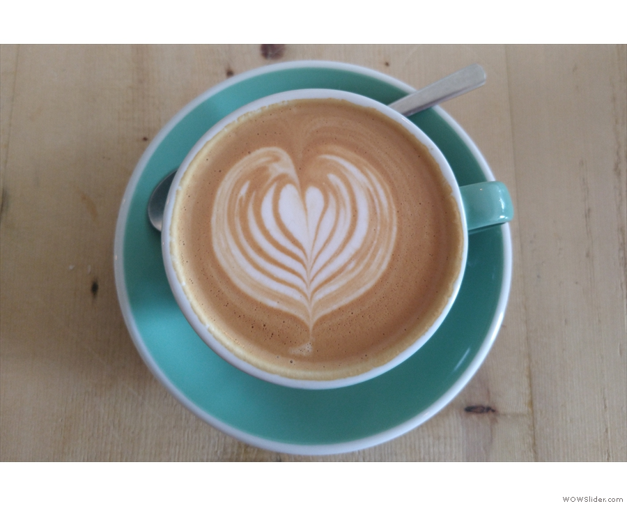 ... which is where I'll leave you, looking at my lovely latte art.