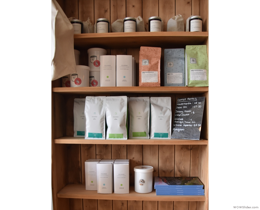 ... where you can buy coffee from the current guest roaster.