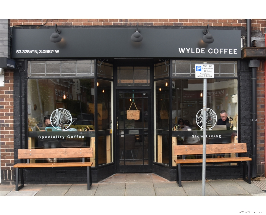 ... stands Wylde Coffee, which has been here since November 2019.