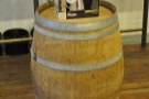I was, for some reason, very taken by this barrel, being used to display a pouring kettle.