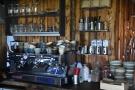 Finally, the three-group La Marzocco Linea espresso machine is off to the right.