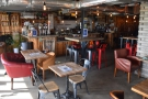 ... and here's the view from the door, looking towards the back. The counter is on the...