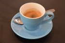 ... so I will leave you with my espresso, which made a change from my usual flat whites.